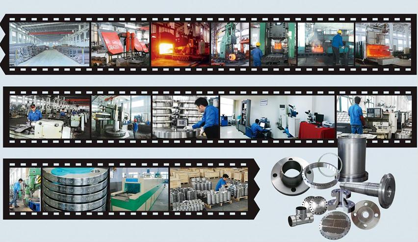 Herstellungsprozess für Flansche und Ringe